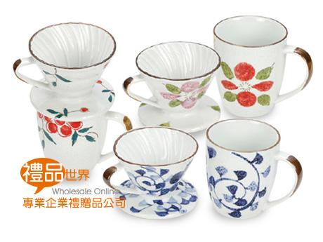 日式手繪咖啡濾杯組