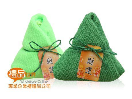 粽子造型小方巾
