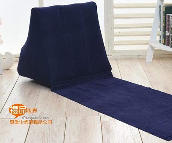充氣式三角靠枕墊