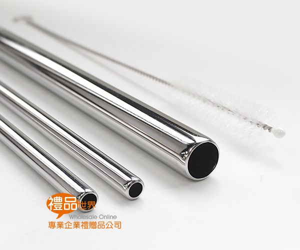 環保不鏽鋼吸管4入組