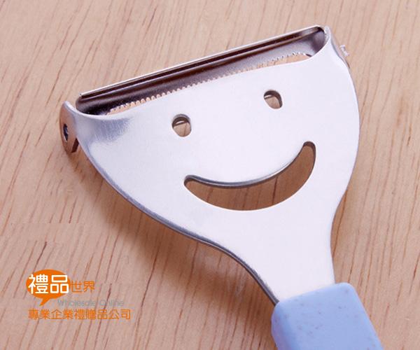 小麥微笑不銹鋼削皮刀
