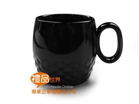 菱紋酒桶馬克杯400ml