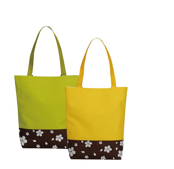 典雅櫻花雙色袋