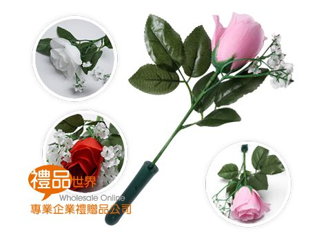 浪漫LED發光仿真玫瑰花