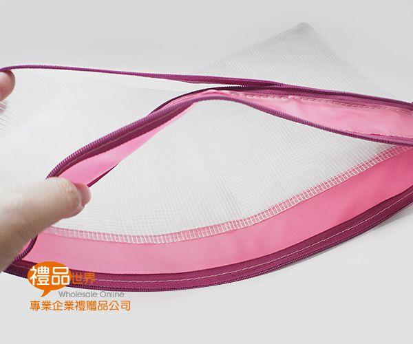 客製化A4文件拉鍊袋(雙層)