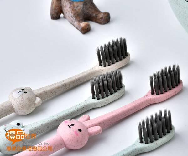 小麥動物兒童牙刷