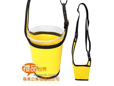 客製化兩用潛水布飲料杯袋