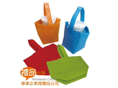 不織布飲料提袋(單杯袋)