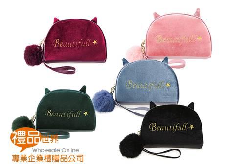 貓咪造型化妝包