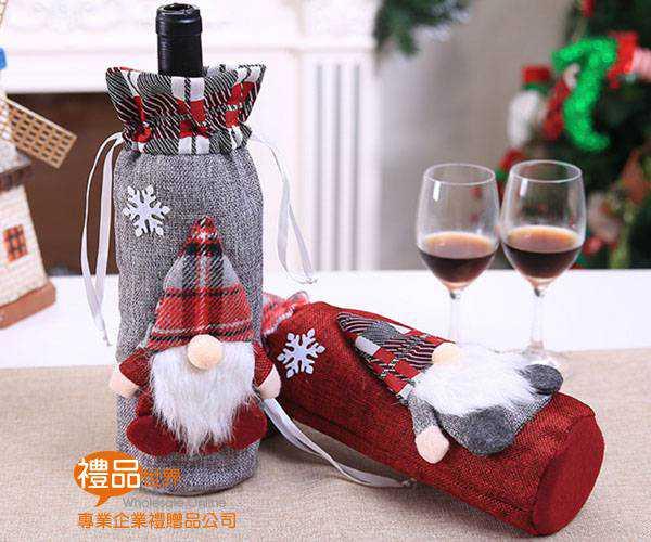 聖誕造型酒瓶套