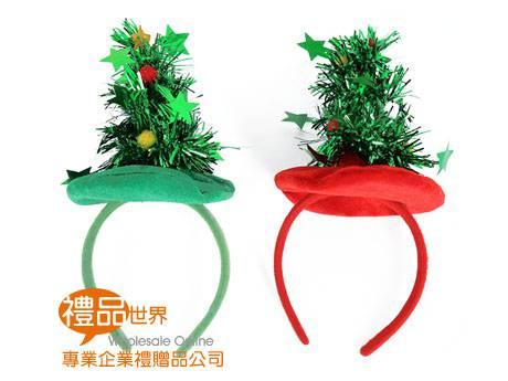 聖誕樹髮箍