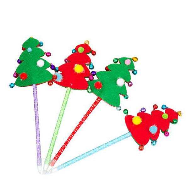 聖誕樹鈴鐺筆