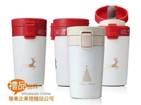 聖誕彈跳咖啡杯