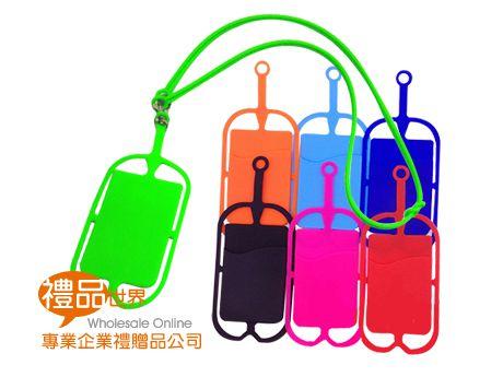 客製化矽膠掛繩卡套