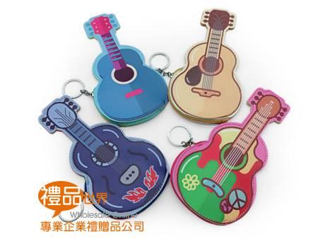 可愛吉他零錢包
