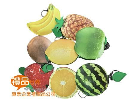 多樣水果零錢包