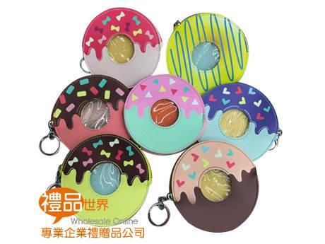 繽紛甜甜圈造型零錢包