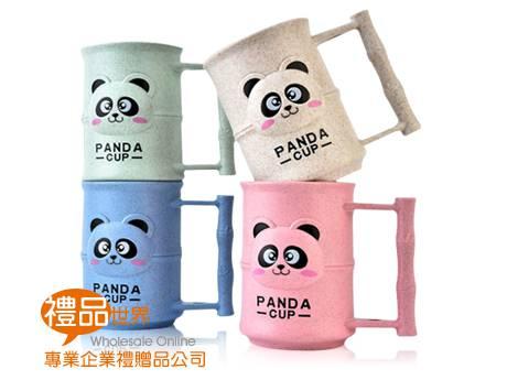小麥熊貓牙刷杯
