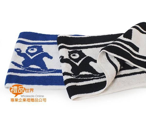 客製化雙色緹花毛巾