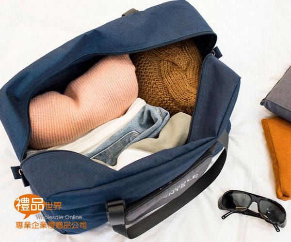 牛仔摺疊行李箱包