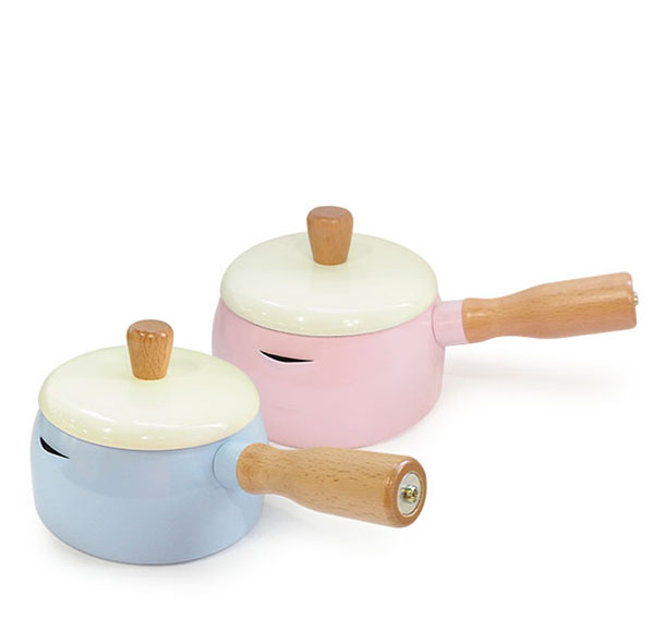 西華時尚木柄牛奶鍋