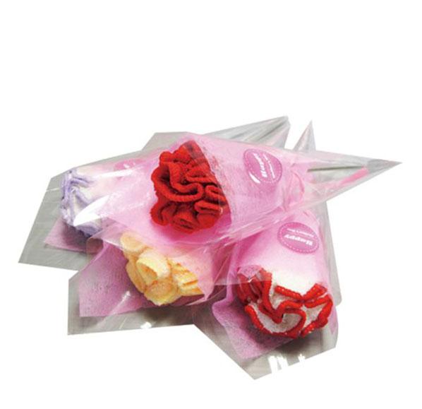 康乃馨造型毛巾