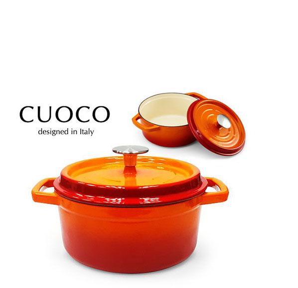 法式經典鑄鐵湯鍋20公分