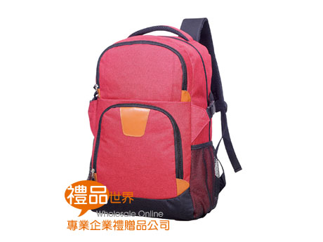 炙紅休閒背包