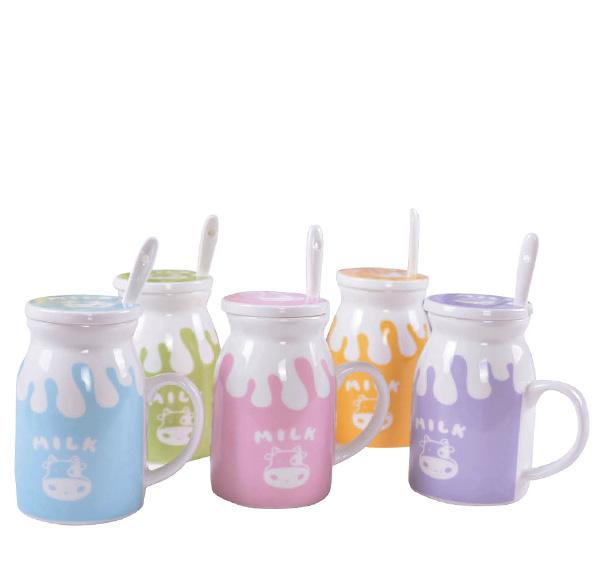 可愛陶瓷牛奶杯(單入)