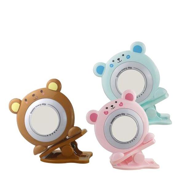動物造型夾式補光燈鏡