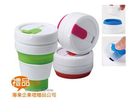 矽膠摺疊伸縮咖啡杯