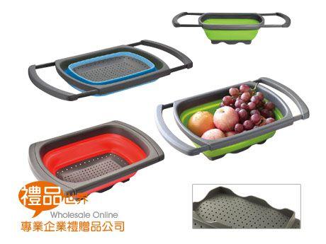 矽膠折疊伸縮水果籃