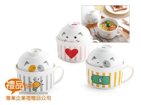 日式泡麵蓋碗組