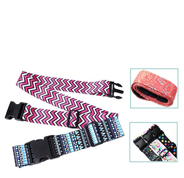 客製化彩印行李綁帶