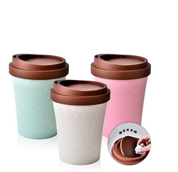 咖啡杯造型桌面收納桶