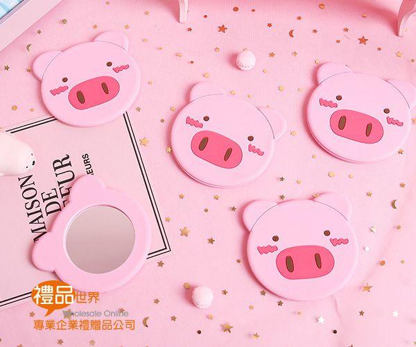 粉嫩小豬隨手鏡