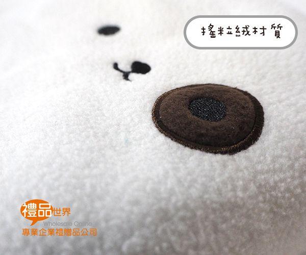 客製化動物捲捲毯