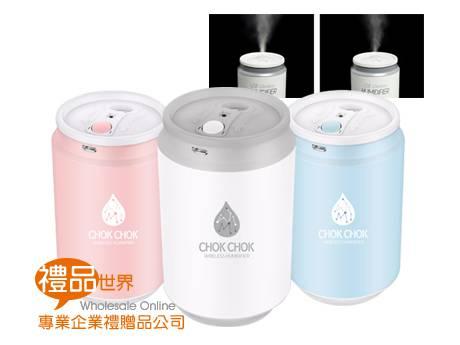 飲料罐造型加濕器
