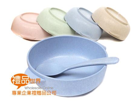 小麥餐具兒童碗(附匙)