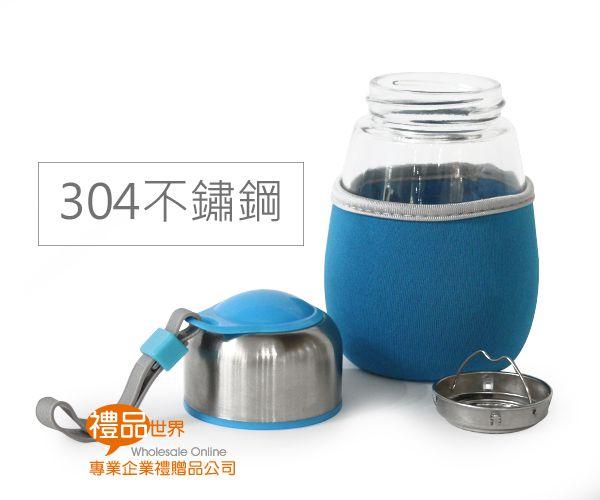 企鵝玻璃水瓶450ml