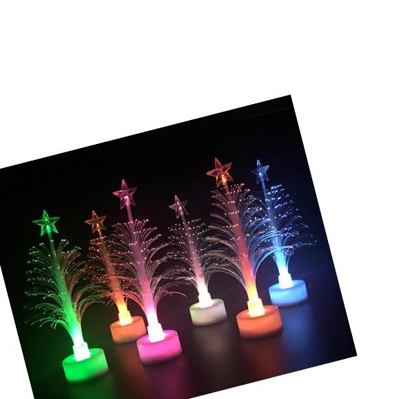 聖誕樹七彩小夜燈