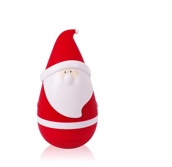 聖誕老人不倒翁藍芽音響