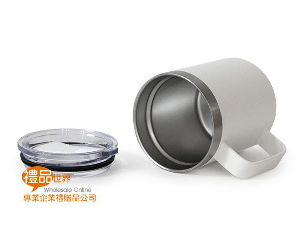 典雅不鏽鋼馬克杯450ml