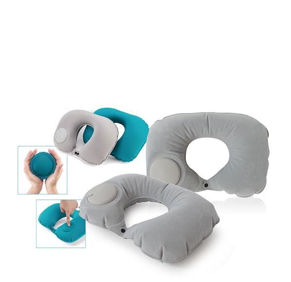 按壓式充氣頸枕