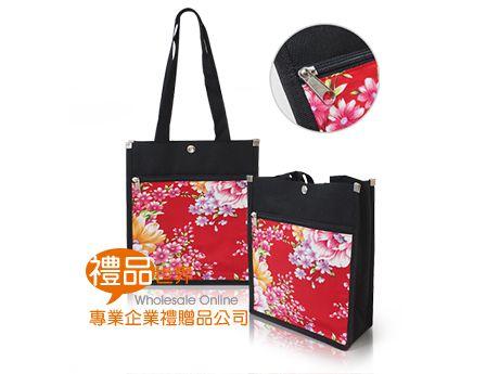 牡丹花資料提袋