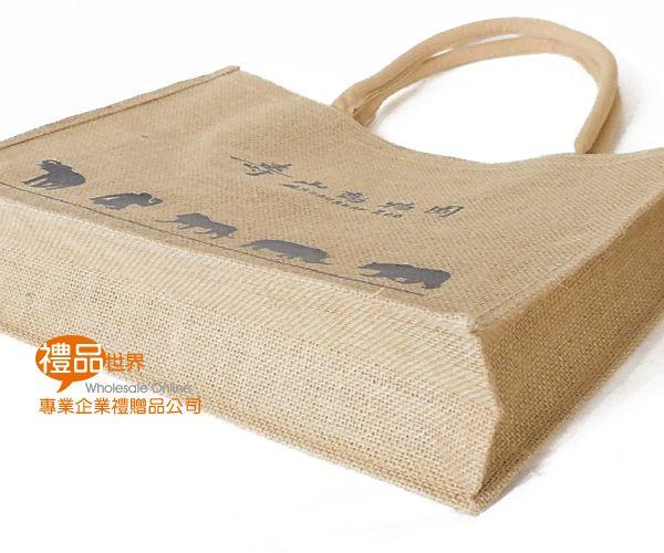 客製化麻布購物袋30x40x11cm