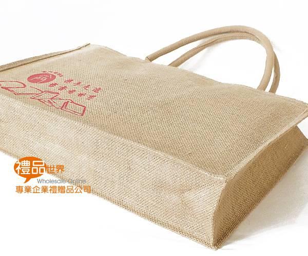 客製化麻布購物袋31x48x10cm