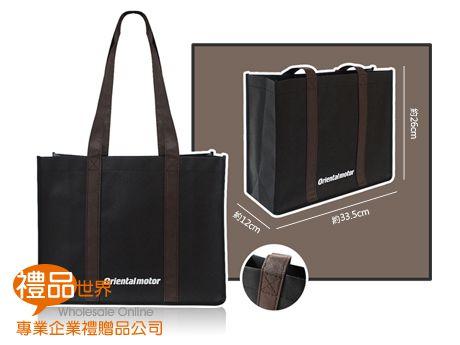 客製化不織布購物袋26x33.5x12cm