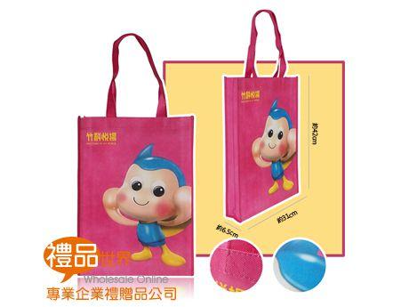 客製化彩色不織布購物袋42x31x6.5cm