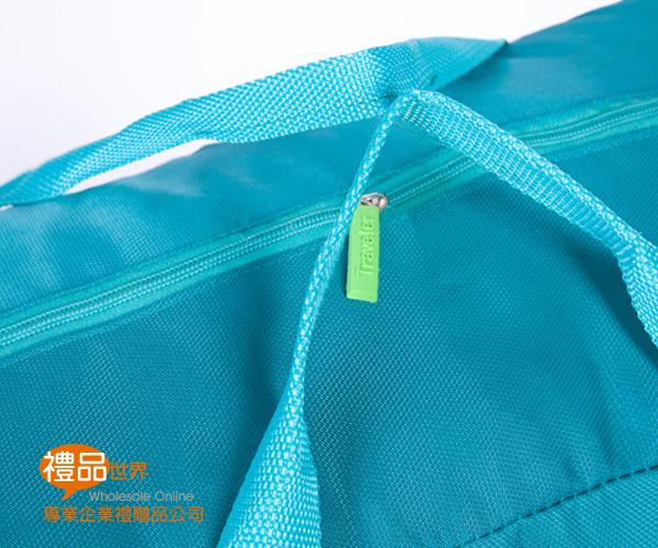純色大容量行李拉桿袋